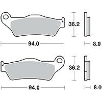 MetalGear Bremsbel/äge hinten f/ür Yamaha YP 125 Majesty SE06 2001-2009