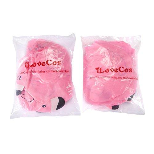 Aufblasbarer Getränkehalter – iLoveCos – Flamingo - 2
