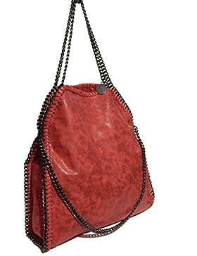 Handtasche / Schultertasche mit Kette, im Stil von Stella McCartney