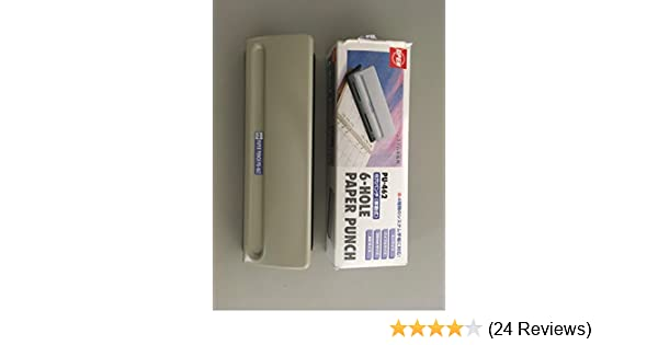 PU-462 to 8 pieces of open industrial 6 hole punch Mobile japan import 0.8mm