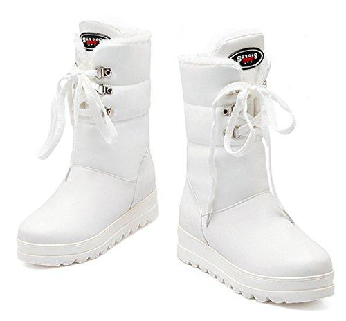YE , Bottes de Neige femme Weiß