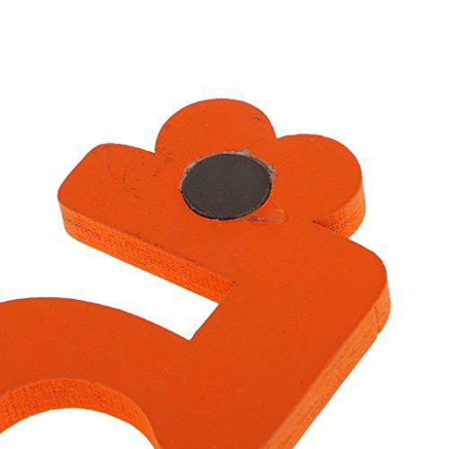 10pcs Multicolore Magnétique Numéro Réfrigérateur Aimants Frigo Stickers Jouet Enfants