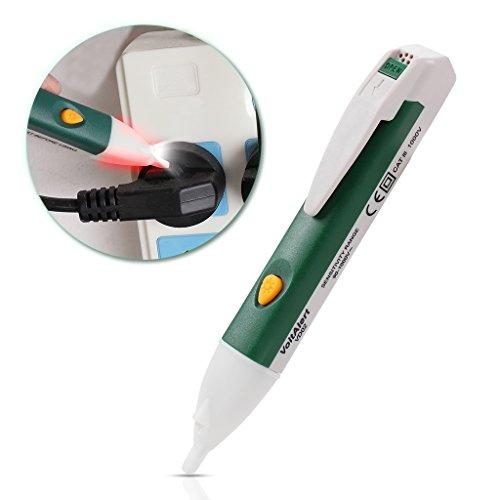 Berührungslose Spannungsprüfer mit LED-Taschenlampe Alarmmodus Hochpräzise Sensor Safe Voltage Detector Stift 90-1000V Ac Für Home Elektriker Labor (Detector Voltage Kit)