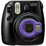 Clover CPA0006 Close-up Lens for Fujifilm Instax Mini 8 Cameras (Self-portrait Mirror) (Purple)