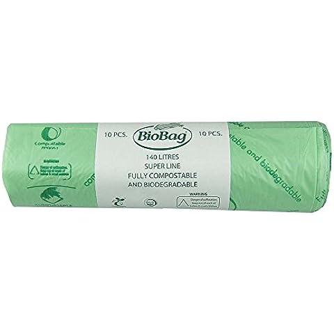 All-Green–Bolsas de basura biodegradables y compostables (con guía de compostaje),