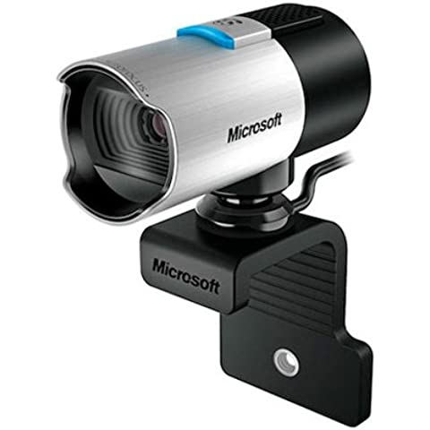 Microsoft LifeCam Studio - Webcam (1920 x 1080 Pixeles, 30 fps, 1080p, USB 2.0, Negro, Plata, CMOS)