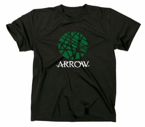 Arrow Mystery simbolo Maglietta, TV, Green Black