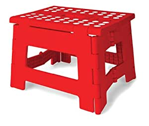 Kikkerland Rhino Easy Fold Step Stool Short Amazon Co Uk