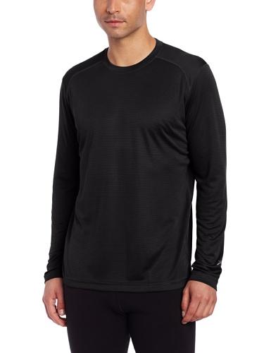 Terramar Helix Langarmshirt, leicht, atmungsaktiv, 1 Stück L Schwarz -