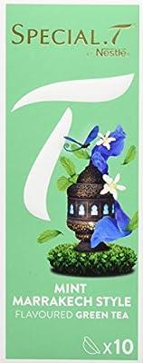 SPECIAL.T by Nestlé Thé Vert Mint Marrakech Style Boîte 10 Capsules 25 g - Lot de 6