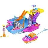 Mattel Polly Pocket Y6717 - Abenteuer Jacht, inklusive Puppe und Zubehör
