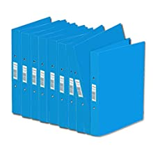Rexel A5 Clear Ice 2 Ring Binders - Pack of 10