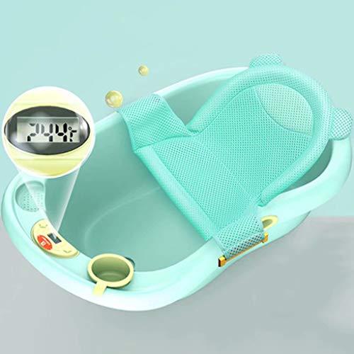 Babybadewanne-Babybadewanne kann sitzen liegen Neugeborene Kinder liefert große Starke Kinderbadetrommel 89 * 52 * 25cm
