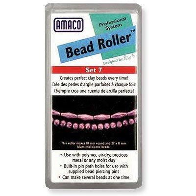 Tool Bead/Perlen-Roller, stumpfes Ende, Transparent