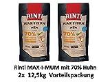 Rinti Max-i-mum Huhn | 2x 12kg Hundefutter SPARPACK