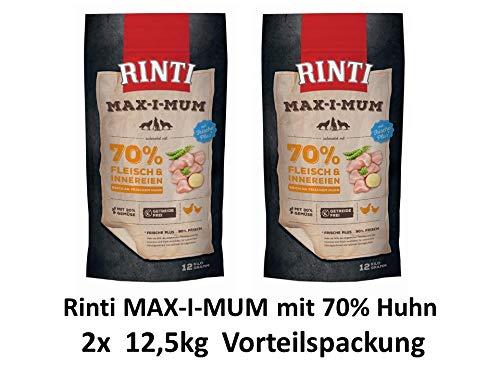 Rinti | Max-i-mum Huhn | 2 x 12 kg