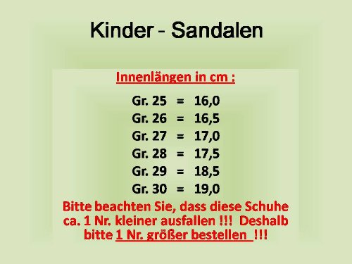 Gibra ® trekking lederinnensohle, sandales enfant gris/bleu clair, 25–30 taille Gris - hellgrau/blau