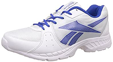 Reebok Men's Speed Up Xt White and Vital Blue Running Shoes - 10 UK/India (44.5 EU)