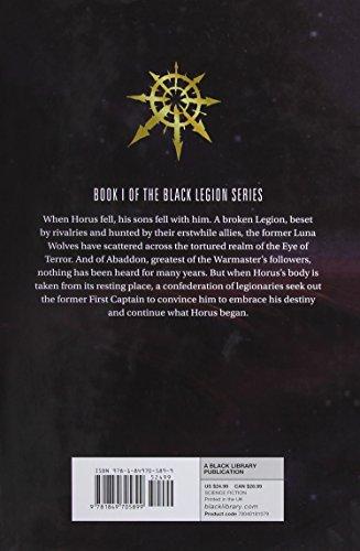 Warhammer 40K Talon Of Horus HC (Black Legion)