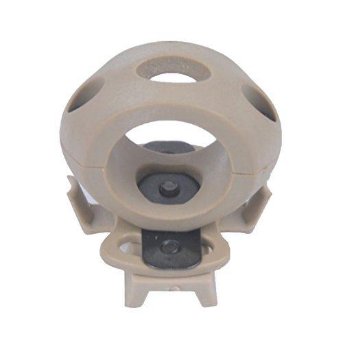 Tactical Airsoft casco luz 1,2