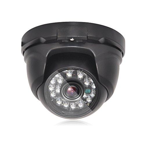TMEZON 1080P PoE Home Security Kamera-System, 4CH Netzwerk PoE-Überwachung IP-Kamera mit NVR-Recorder, einfache DIY-Installation, Remote View, ohne Festplatte (Kamera, 1080P 2020Q) Home Security-kamera-system