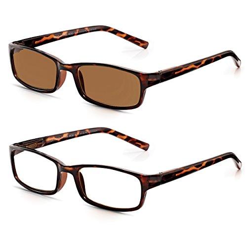 dc2df5b282 Read Optics x2: Gafas de Lectura Hombre/Mujer + Gafas De Sol Graduadas para