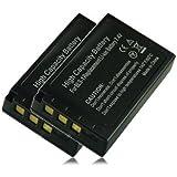 M&L Mobiles® | 2x Batterie BLS-1 pour Olympus DSLR-E400 | DSLR-E410 | DSLR-E420 | DSLR-E450