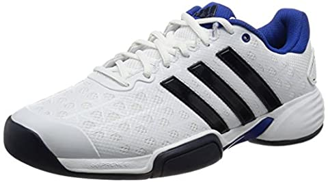 adidas barricade club cpt Tennis - Trainers for Men, 46, White