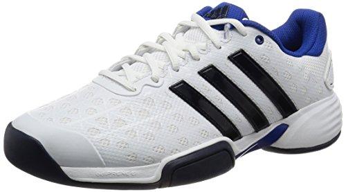 adidas Herren Barricade Club Cpt Tennisschuhe, Blanco (Ftwbla/Maruni/Reauni), 43 1/3 EU