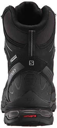 Salomon X Ultra Trek, Chaussures de Randonnée Hautes homme Noir (Black/Black/Autobahn)