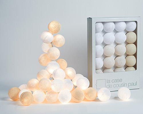 Guirlande lumineuse 20 boules colorées - Modèle Uyuni