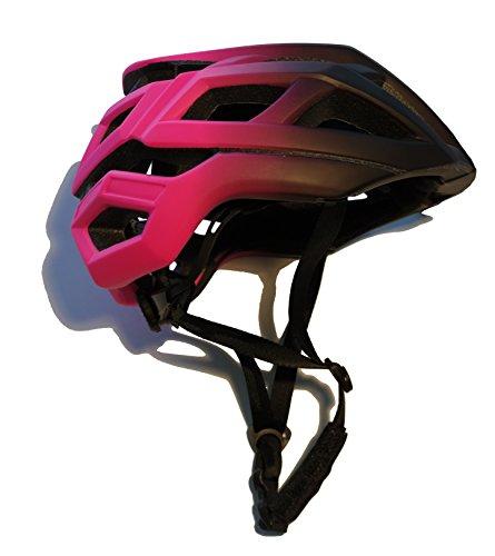 Bollinger Casco Degradado Bicicleta, Unisex Adulto, Rosa, Talla L