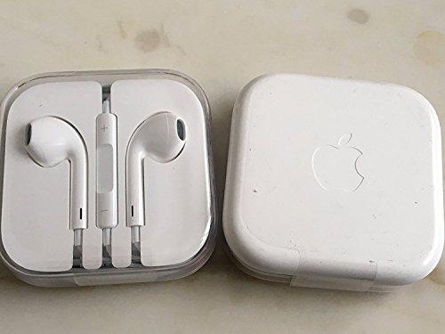 Genuine apple cuffie con microfono e telecomando per iphone 6/6+//5/5c/5s/4/4s/ipod touch/nano/ipad, colore: bianco