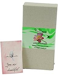BIOPARK - Poudre de Lotus - Riche en nutriments et vitamines - Action antioxydante, astringente et tonifiante...