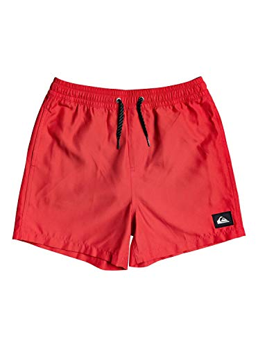 Quiksilver Everyday 13 Jr Bañador, Niños, Rosa High Risk Red, XL/16