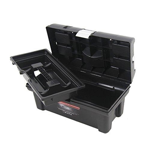 Kunststoff Werkzeugkoffer STUFF Semi Profi Alu 16″, 41x22cm Kasten Werzeugkiste Sortimentskasten Werkzeugkasten Anglerkoffer - 5