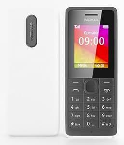 Nokia 107 Dual Sim White/Black Sim Free Mobile Phone 2 Twin SIM
