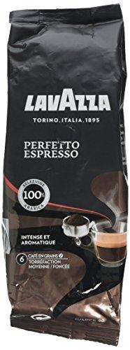 Lavazza Café Grain Perfetto Espresso 250 g - Lot de 5