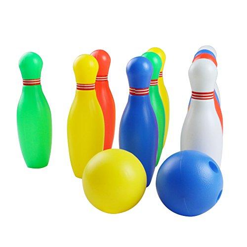 Kegel Kugel Interaktive Spielzeug Bowling-Set für Kinder 3 Jahre und Bis (Medium)