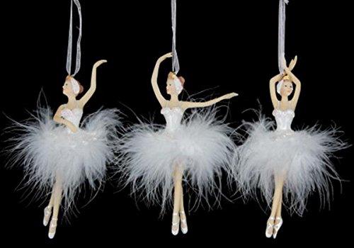 Gisela Graham Ballerina-Figuren, Weihnachtsbaum-Dekorationen, 1 Stück