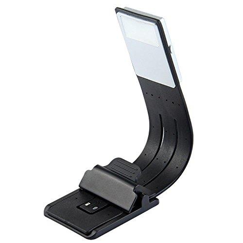 euchte mit Lesezeichen-Clip, USB-wiederaufladbare flexible E-Reader-Licht, für Nacht Lesen / Buchen Liebhaber / Student (Student Lesezeichen)