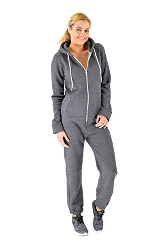Ladies Fleece Damen-Zip-On-Onesie