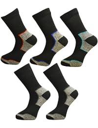 5 Pair Pack Mens Ultimate Walking Socks By Freshfeel Size 6-11