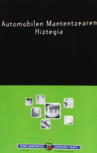 Automobilen Mantentzearen Hiztegia (Euskalterm)