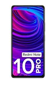 Redmi Note 10 Pro (Dark Night, 6GB RAM, 128GB Storage) -120hz Super Amoled Display|64MPwith 5mp Super Tele-Macro