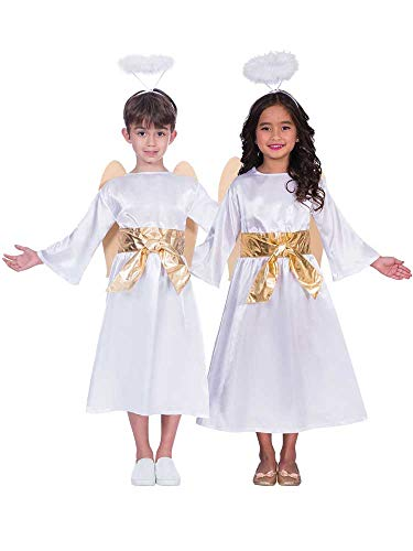 Childs Angel Gabriel Costume - Large (9 - 10 Years)