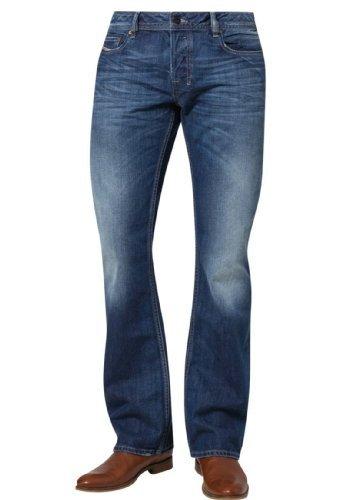 Diesel Zatiny Pantaloni, Bootcut Jeans Uomo, Blau (Medium Blue 008XR), 32W X 32L