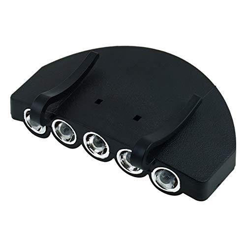 Praktische Stirnlampe 5 LED Scheinwerfer Angeln für