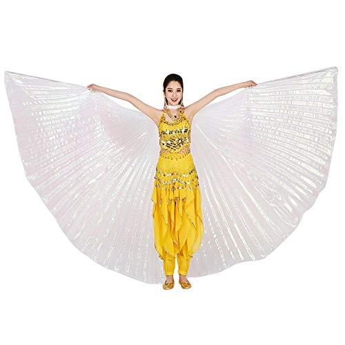 YWLINK Mujer 360 Grados Rendimiento Al Aire Libre Egipto Belly Wings Dancing Costume...