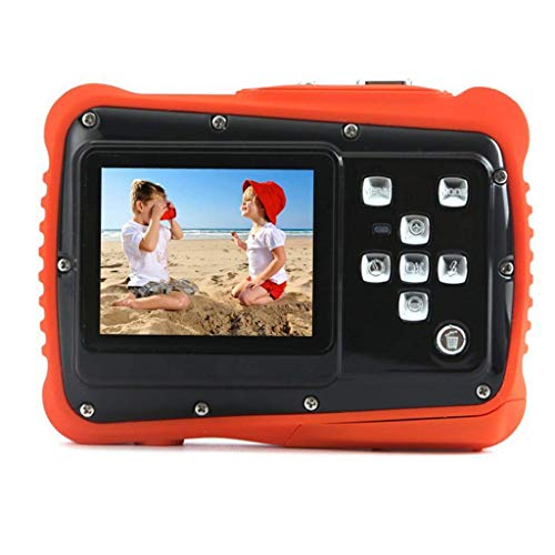 AG Tragbare Kinder Action Kamera - 2 Zoll Tft LCD 12Mp Hd Digital Dv - wasserdichte Motion Cam - 4X Smart Zoom - Best,Schwarz